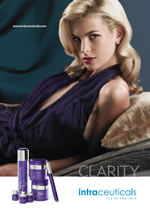 Clarity Treatment clears oil build-up, leaving skin clarified and refined