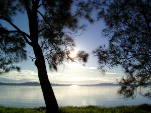 Serenity Lodge Day Spa is right on the shores of peaceful Lake Macquarie ... image