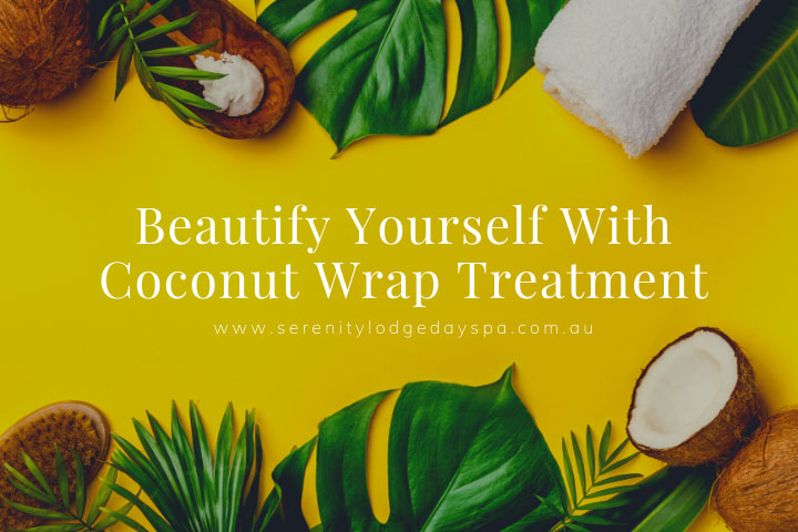 Coconut wrap treatment helps nourish, hydrate and detoxify body